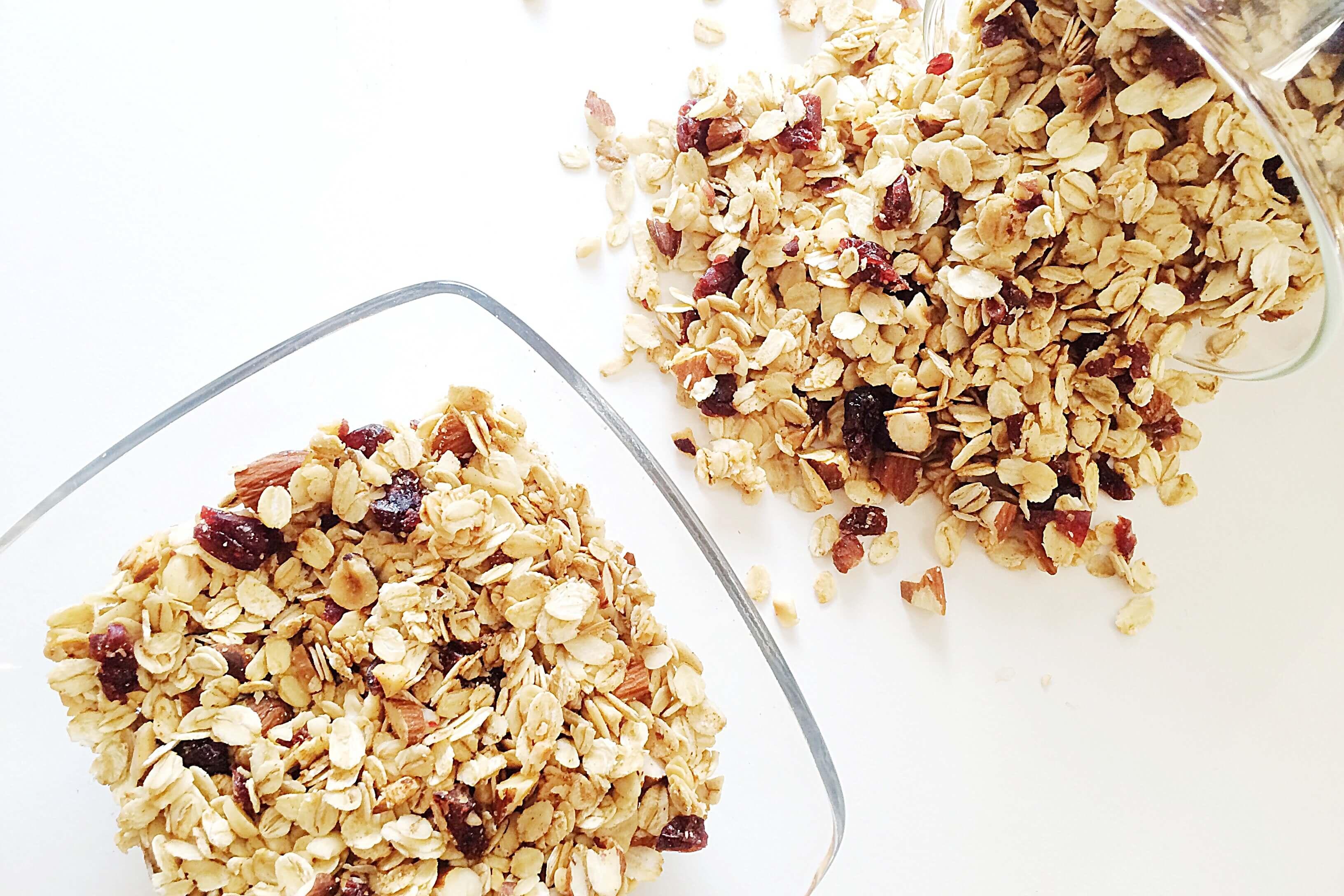 homemade granola m sli selber machen fithealthydi. Black Bedroom Furniture Sets. Home Design Ideas