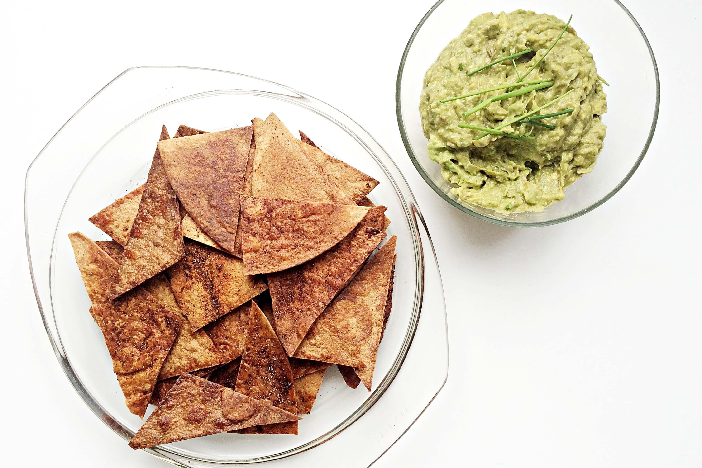 homemade tortilla chips fithealthydi. Black Bedroom Furniture Sets. Home Design Ideas
