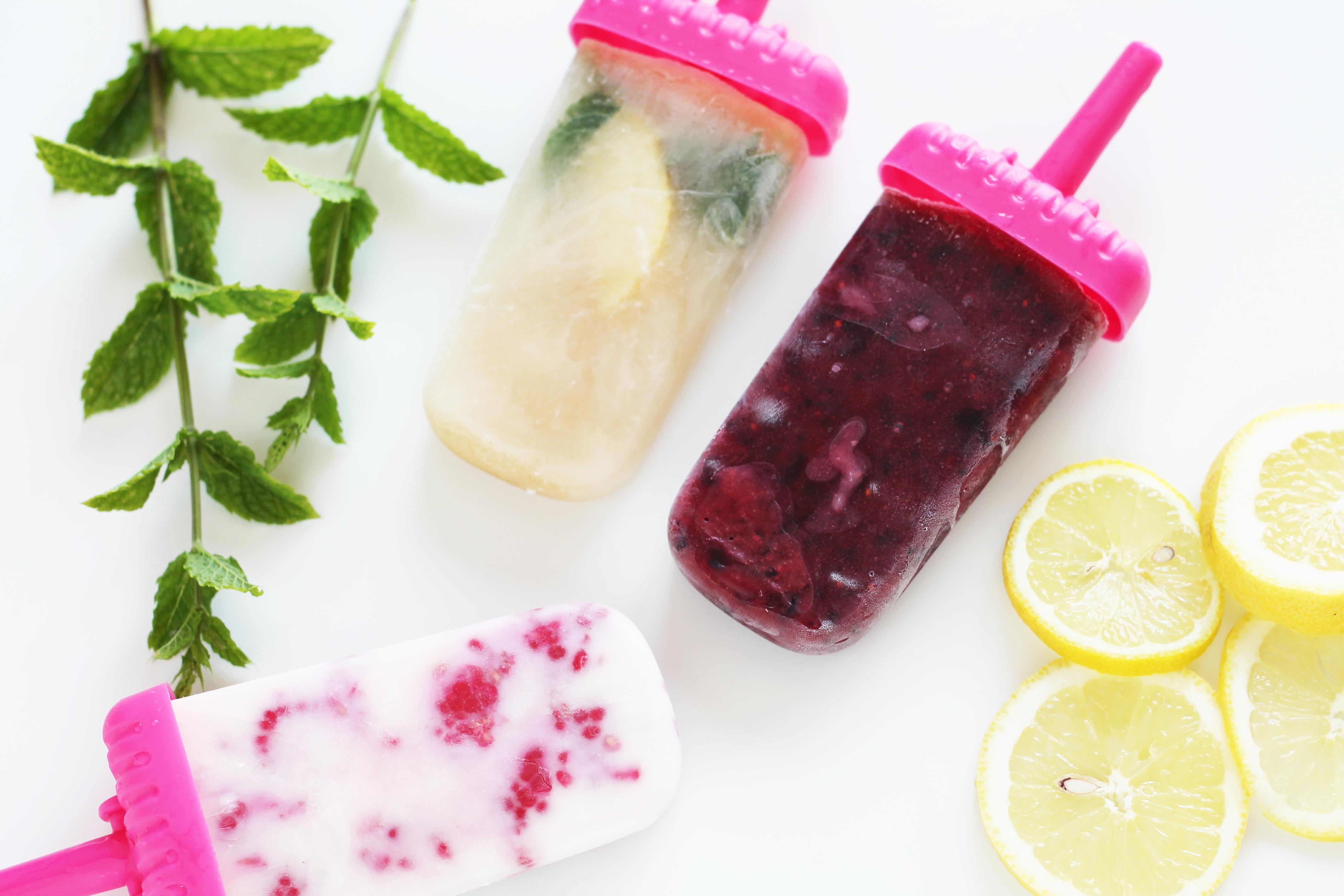 Ice Ice Baby  – gesundes Wassereis easy selber machen