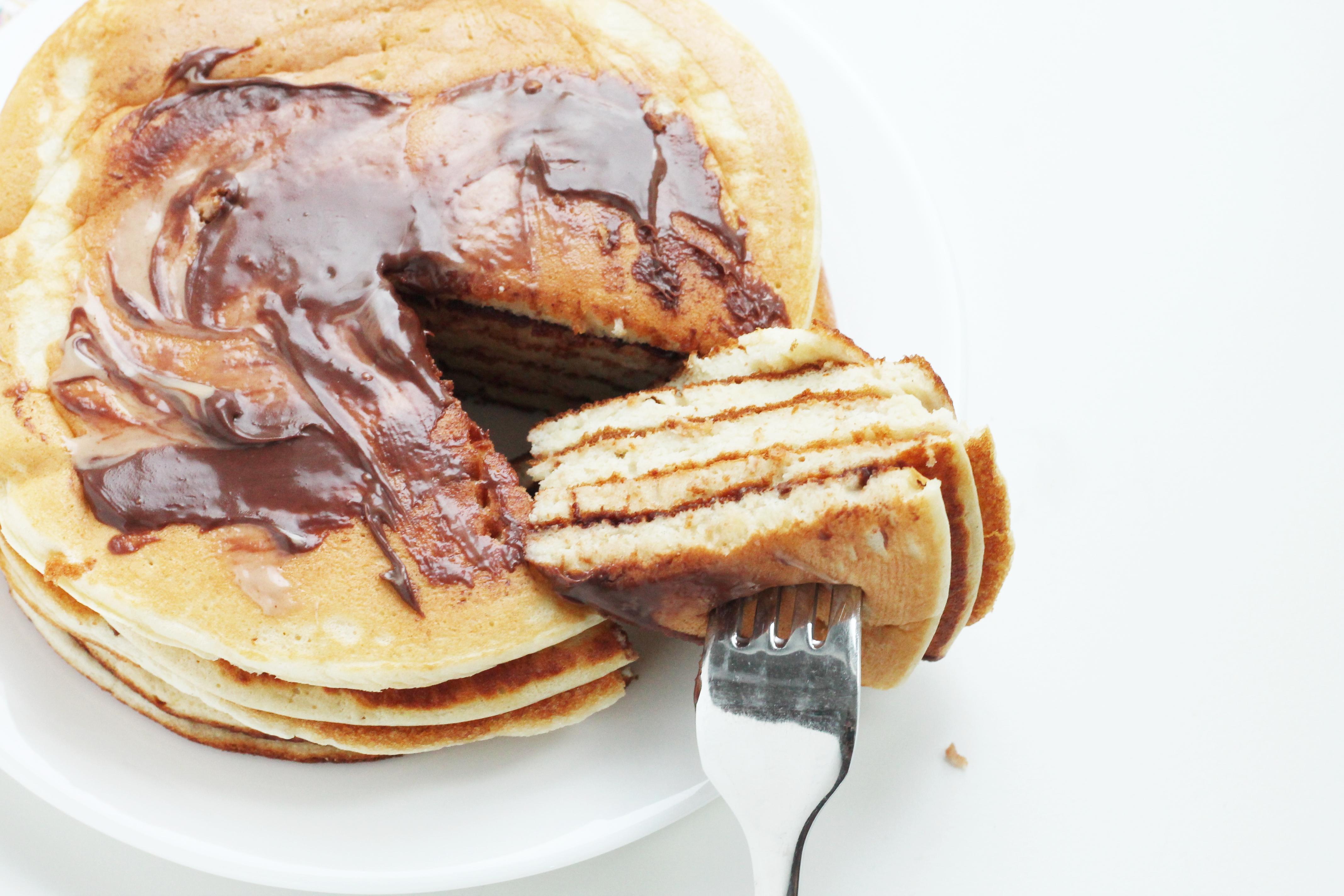 Fluffige Protein-Dinkelpancakes