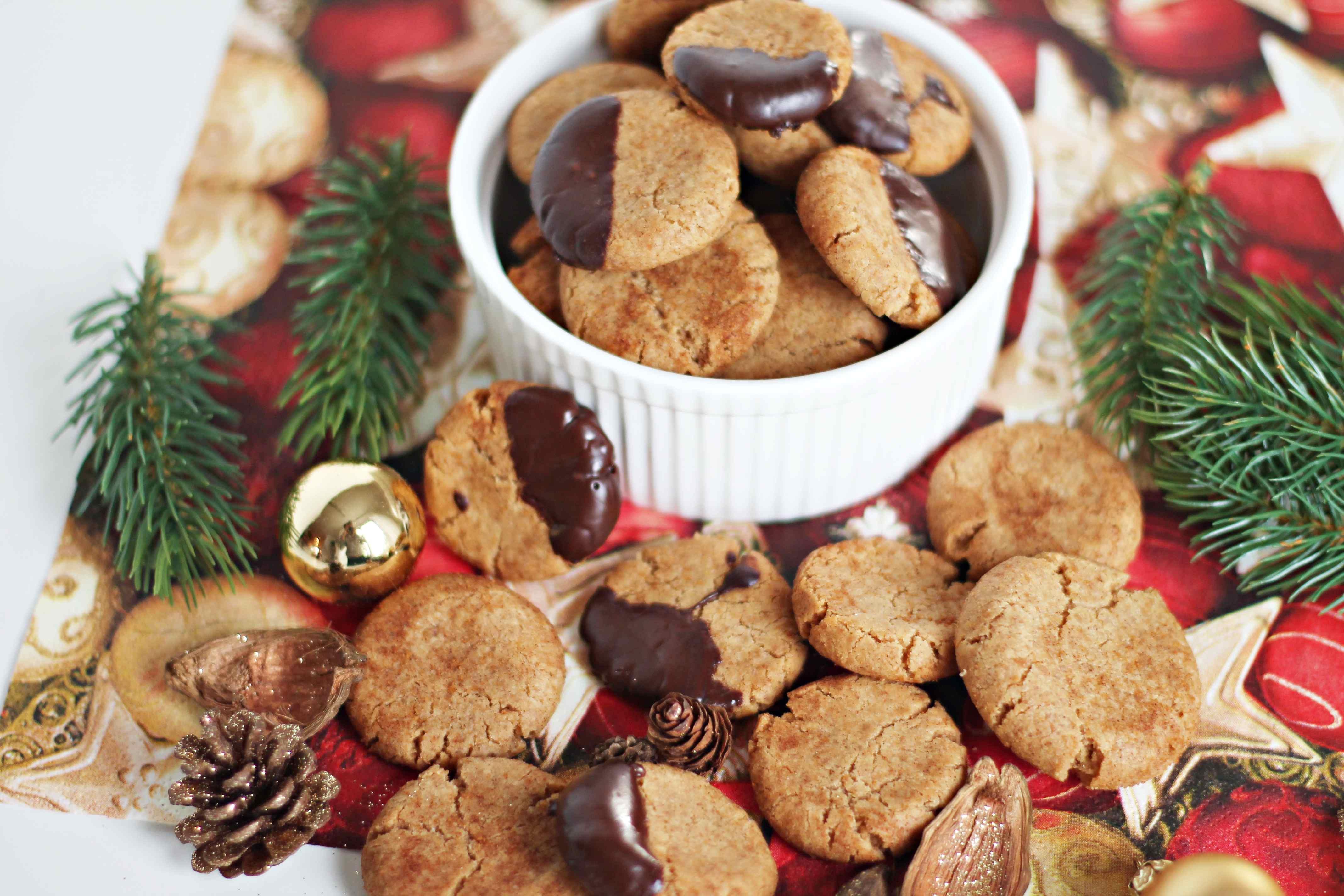Vegane Snickerdoodle-Cookies