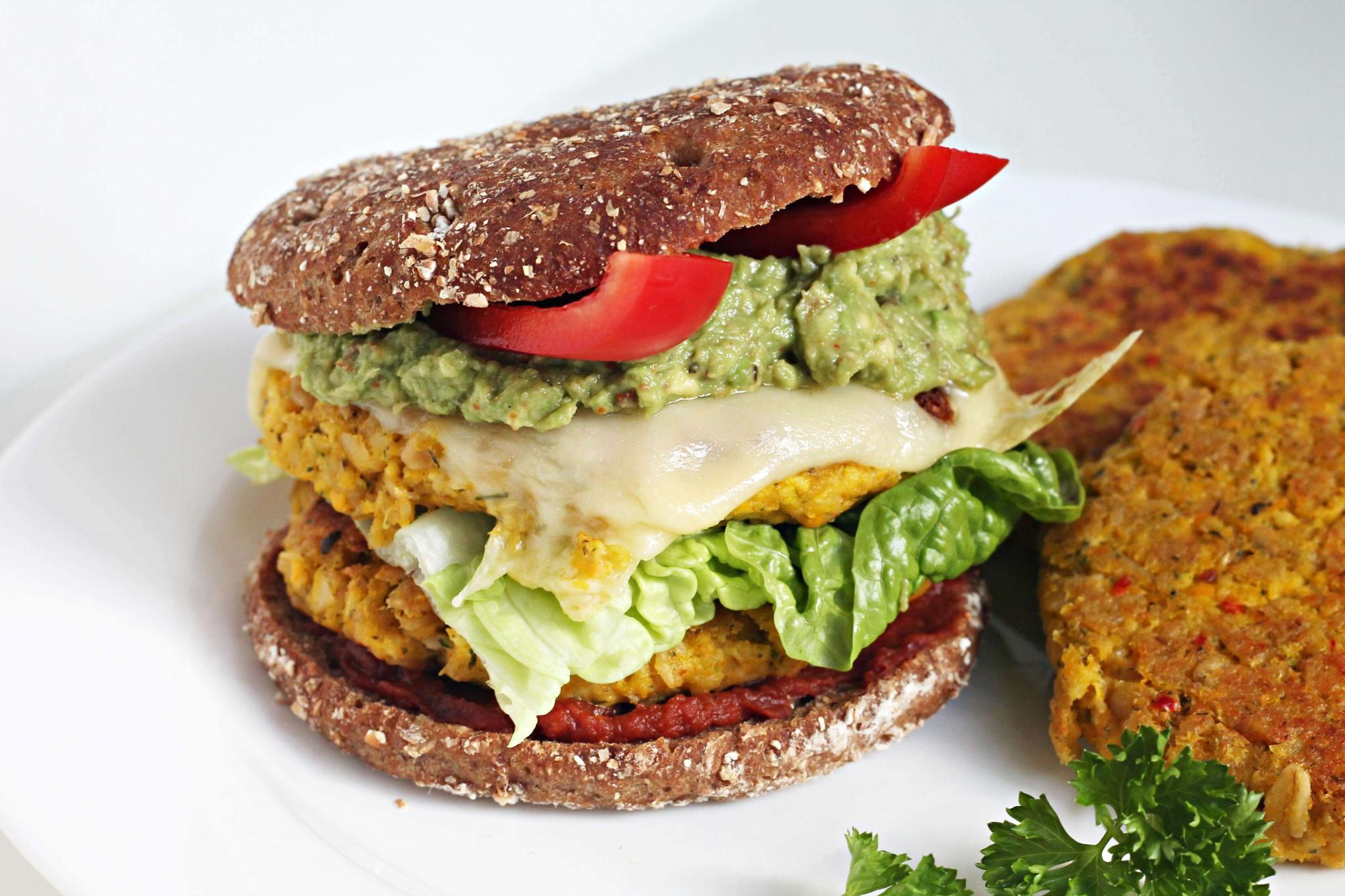 Veggie Burger – 3 Grundzutaten
