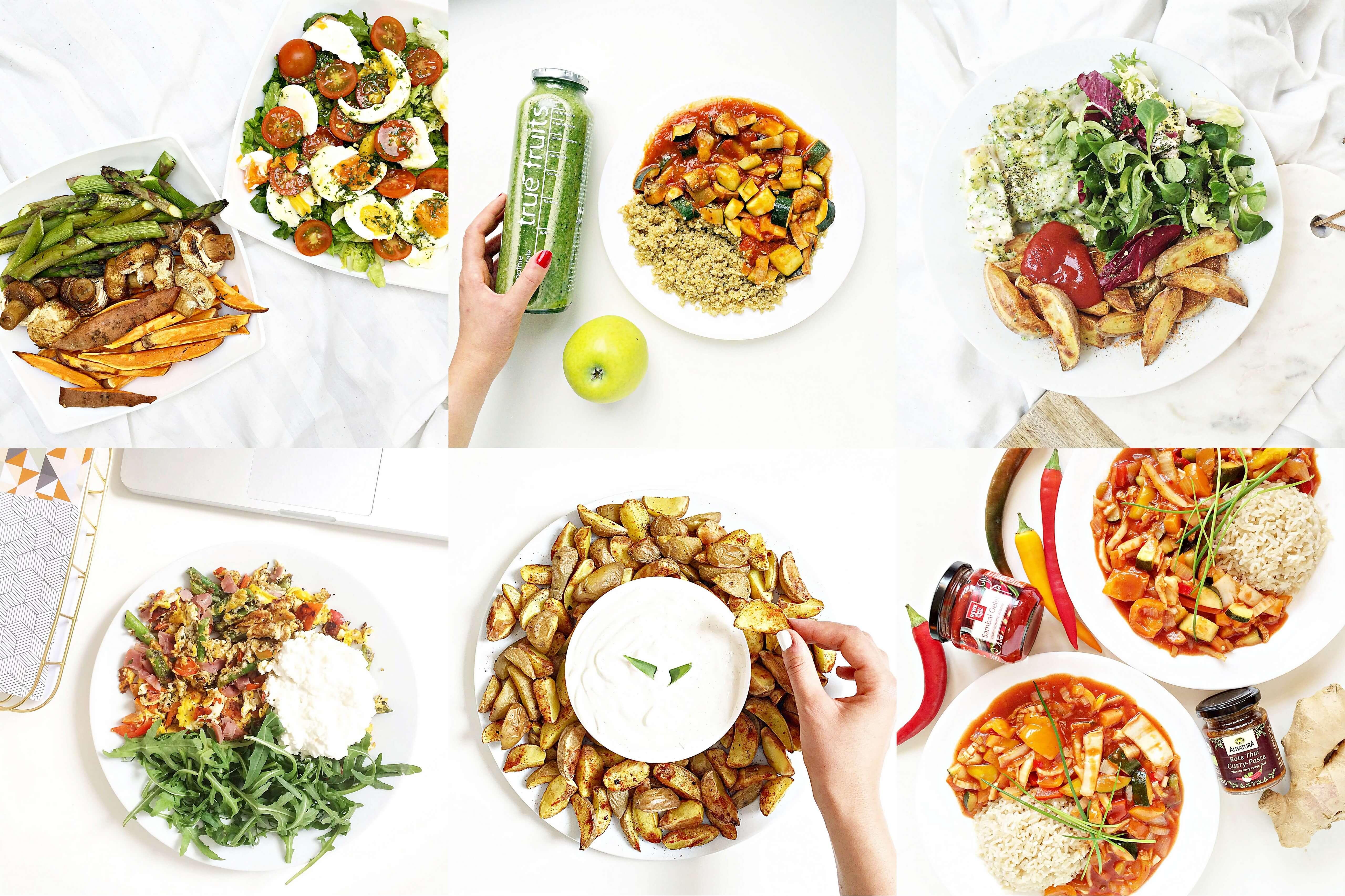 6 lunch ideen gesund schnell lecker. Black Bedroom Furniture Sets. Home Design Ideas