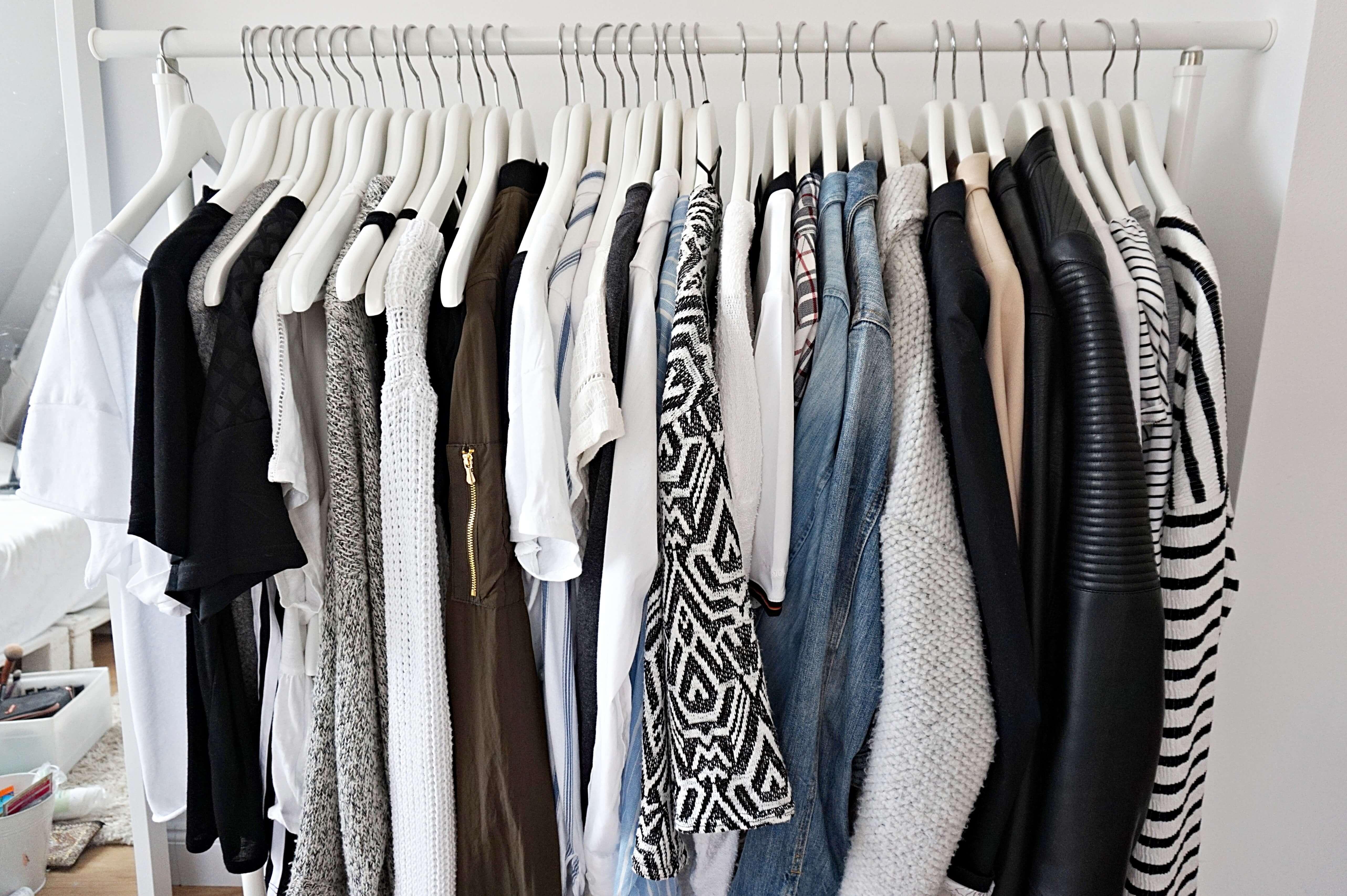 Minimalist Wardrobe Diana Scholl Lifestyle Blog