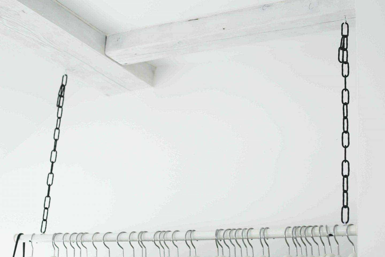 Diy Wardrobe Area Hangende Kleiderstange Do Live