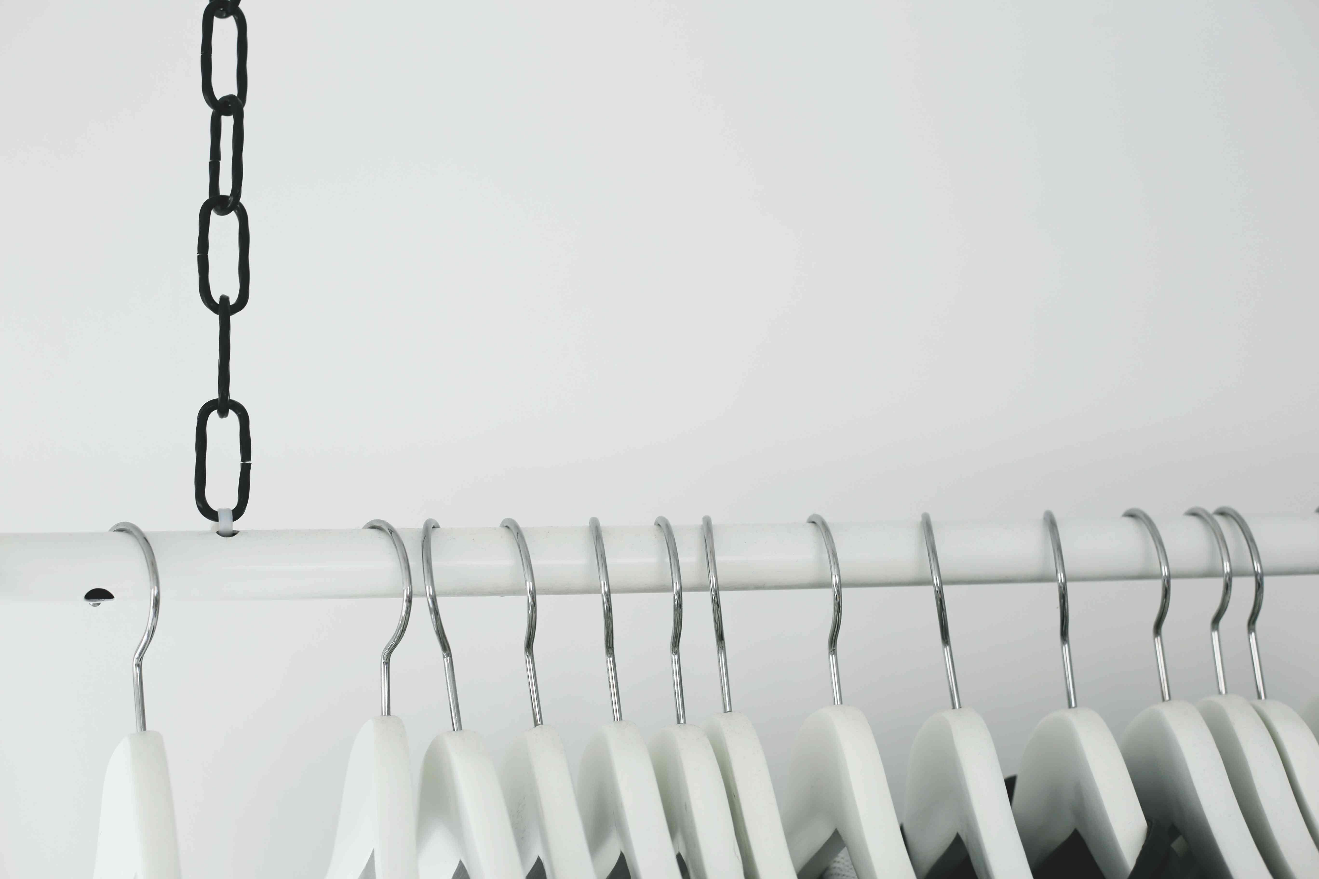 Kleiderstange Decke kleiderstange diy decke haengend wardrobe idea do live