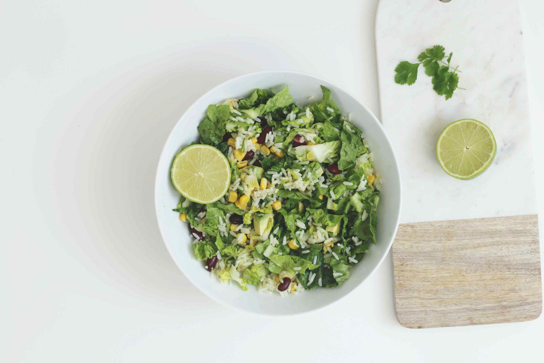 Vegane Tex-Mex-Lunchbowl | Schneller Reissalat